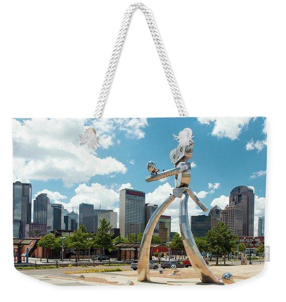 The Traveling Man Dallas 080618 Weekender Tote Bag