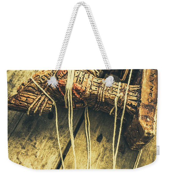 The Trojan Horse And Fall Of Troy Weekender Tote Bag
