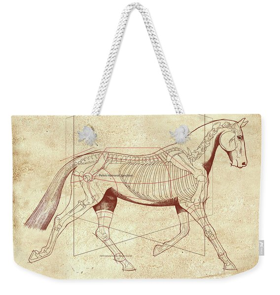 The Trot - The Horse's Trot Revealed Weekender Tote Bag