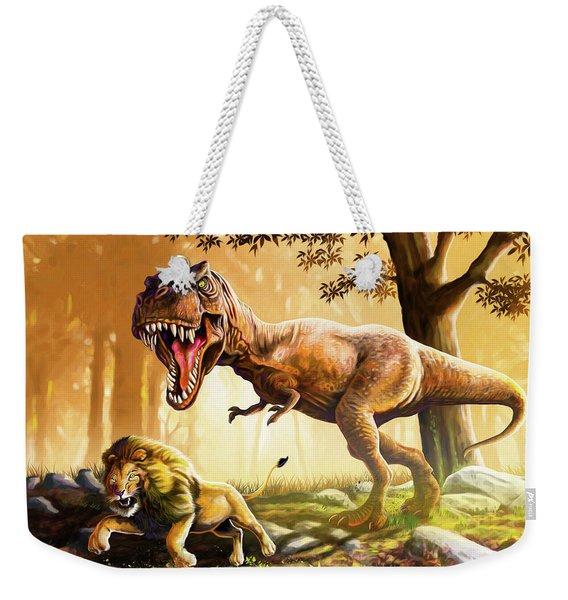 The True King Returns Weekender Tote Bag