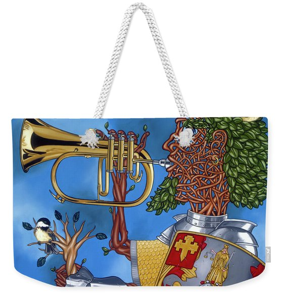 The Trumpiter Weekender Tote Bag