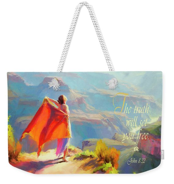 The Truth Will Set You Free Weekender Tote Bag