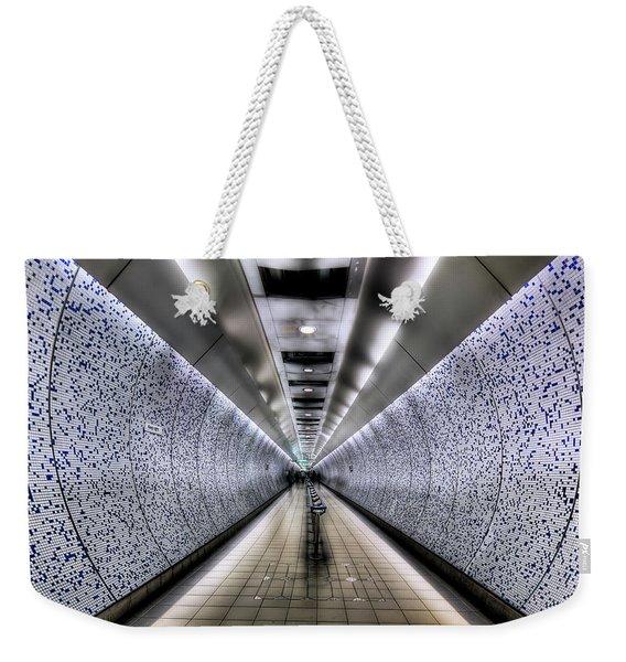 The Tube Weekender Tote Bag
