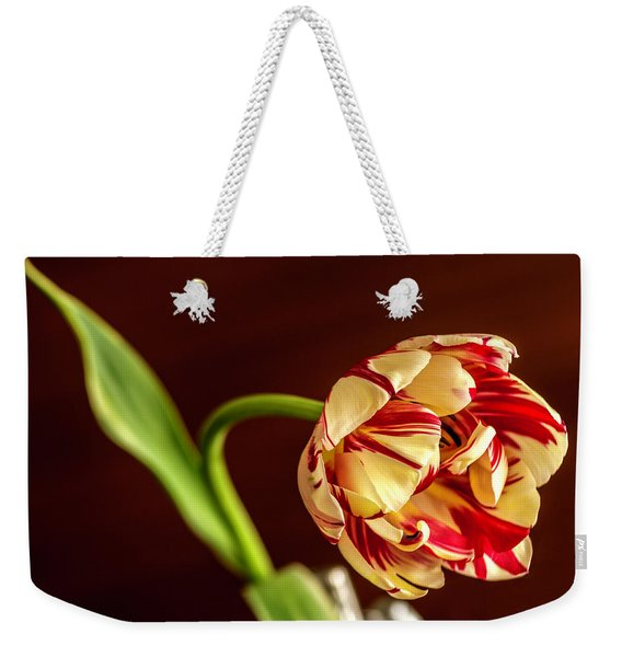 The Tulip's Bow Weekender Tote Bag