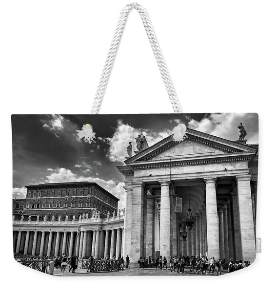 The Tuscan Colonnades In The Vatican Weekender Tote Bag