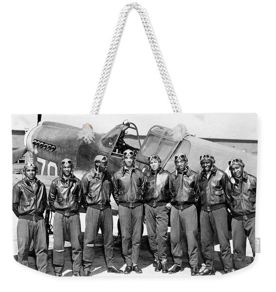 The Tuskegee Airmen Circa 1943 Weekender Tote Bag