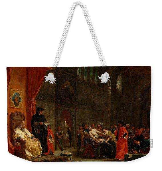 The Two Foscari Weekender Tote Bag