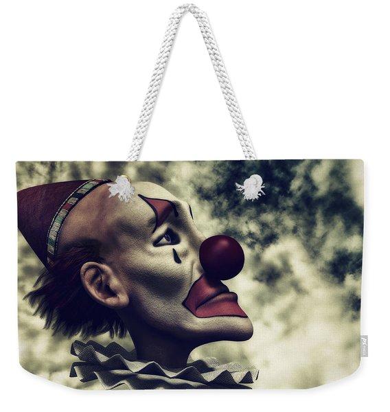 The Understanding Clown Weekender Tote Bag