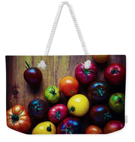 The United Colors Of Tomatoes Weekender Tote Bag