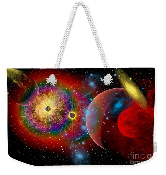 The Universe In A Perpetual State Weekender Tote Bag