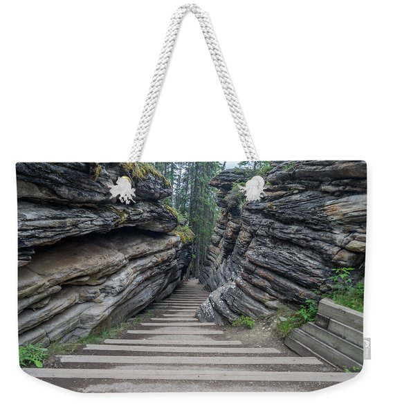 The Unknown Path Weekender Tote Bag