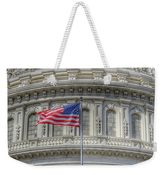 The Us Capitol Building - Washington D.c. Weekender Tote Bag