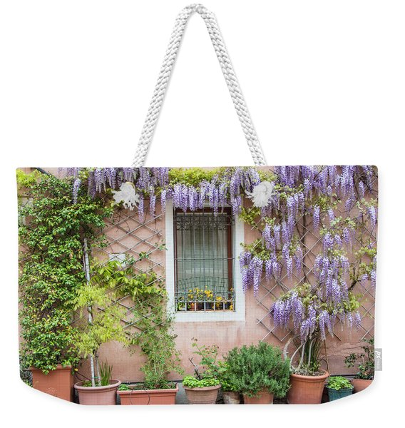 The Venice Italy Window  Weekender Tote Bag