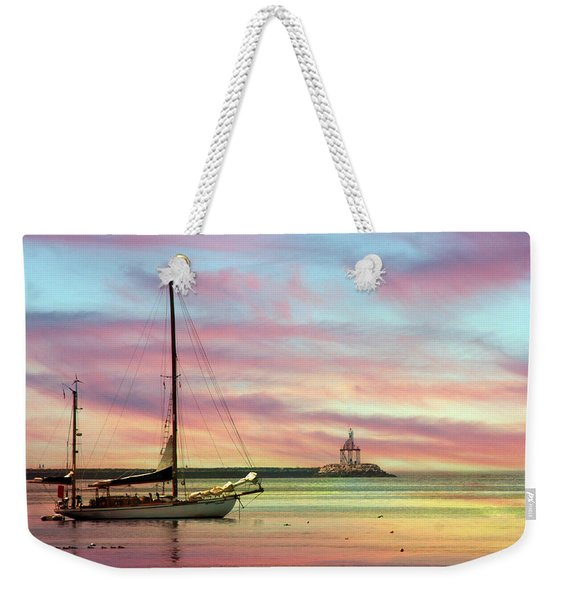 The View From Rocky Neck Weekender Tote Bag