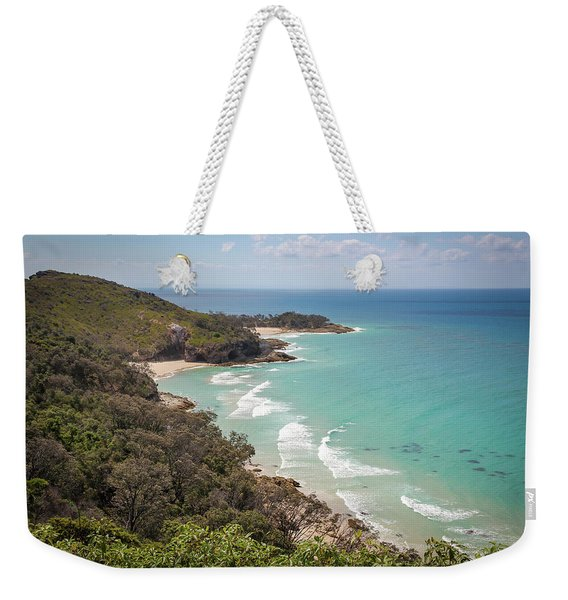 The View From The Cape Weekender Tote Bag