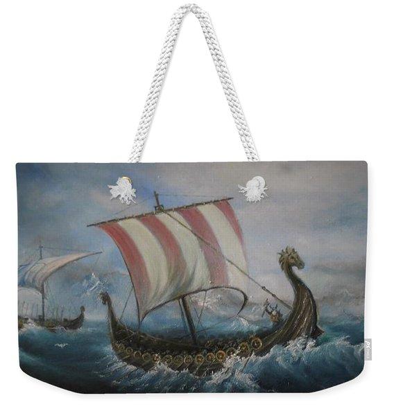 The Vikings Weekender Tote Bag