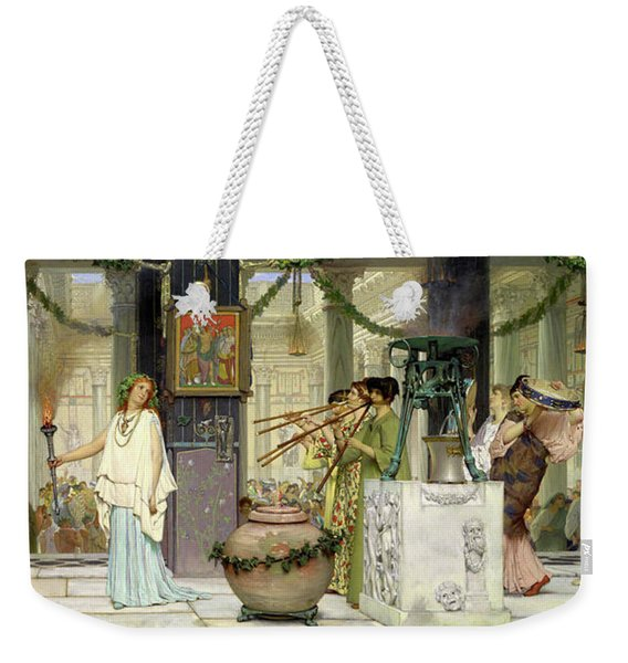 The Vintage Festival Weekender Tote Bag