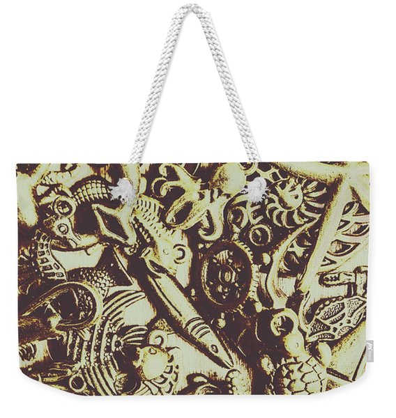 The Vintage Nautics Weekender Tote Bag