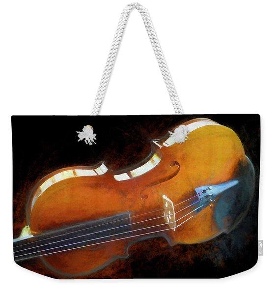 The Violin Weekender Tote Bag