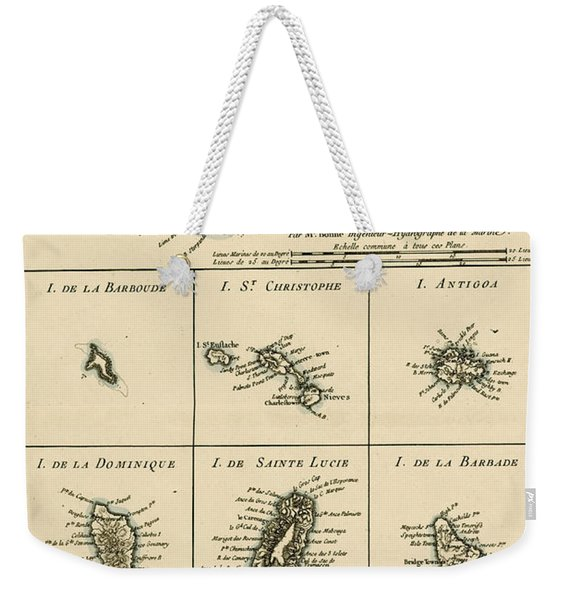 The Virgin Islands Weekender Tote Bag