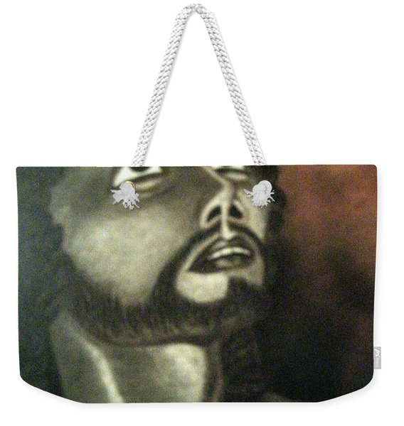 The Vision Of St. Christopher Weekender Tote Bag