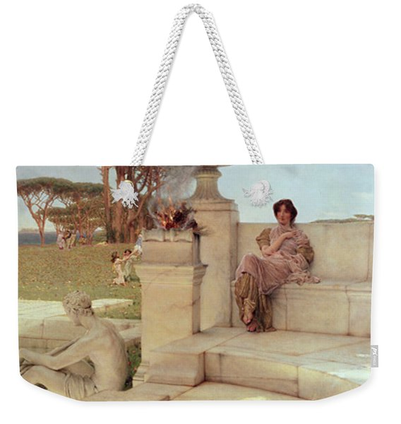 The Voice Of Spring Weekender Tote Bag