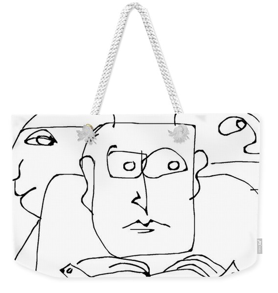 The Waiting Room  Weekender Tote Bag