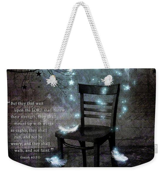 The Waiting Room II Weekender Tote Bag