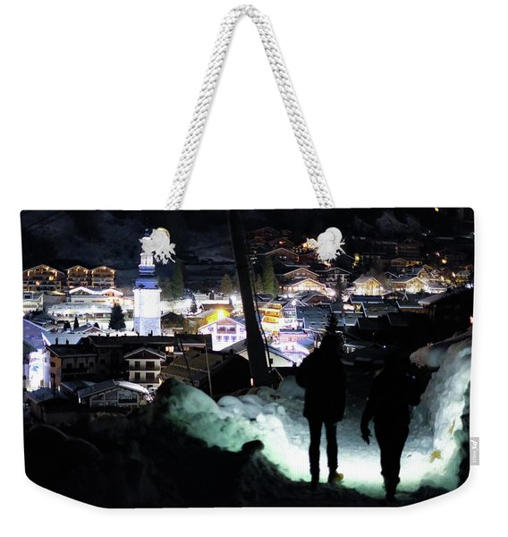 The Walk Into Town- Weekender Tote Bag
