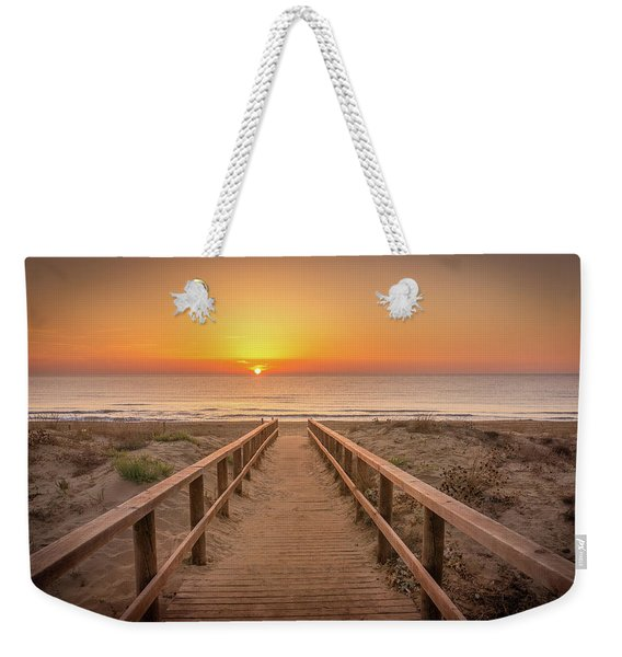 The Walkway To The Sun. Weekender Tote Bag