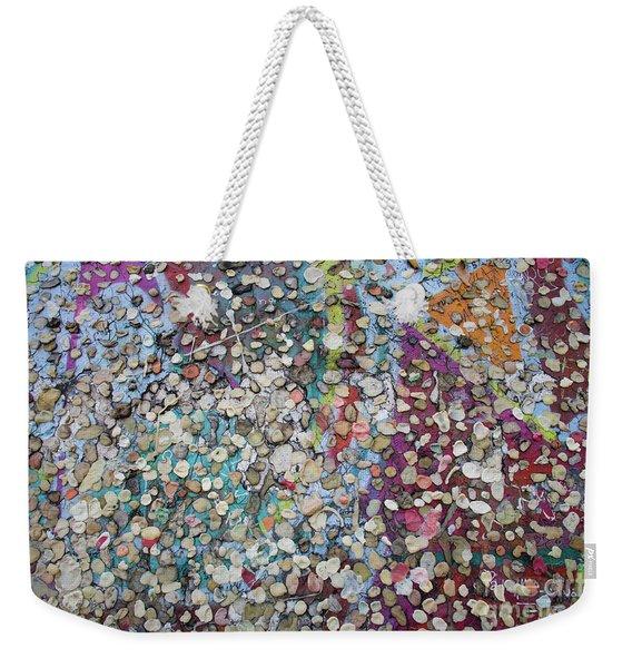 The Wall #4 Weekender Tote Bag