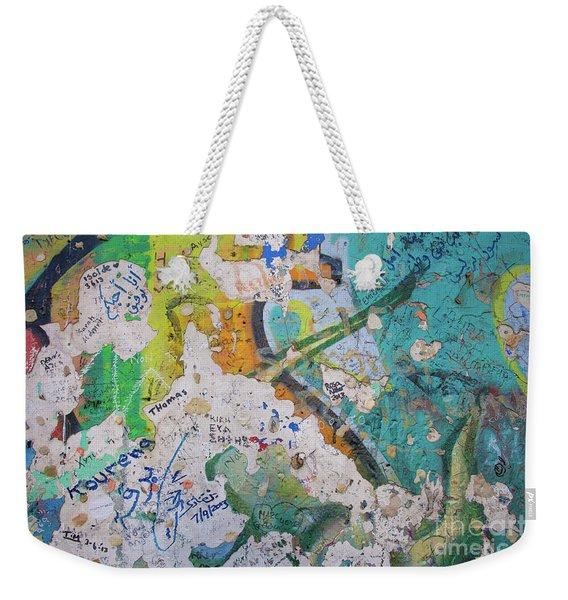 The Wall #8 Weekender Tote Bag