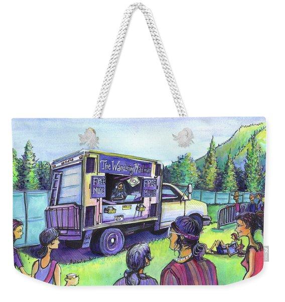 The Wandering Madman Weekender Tote Bag