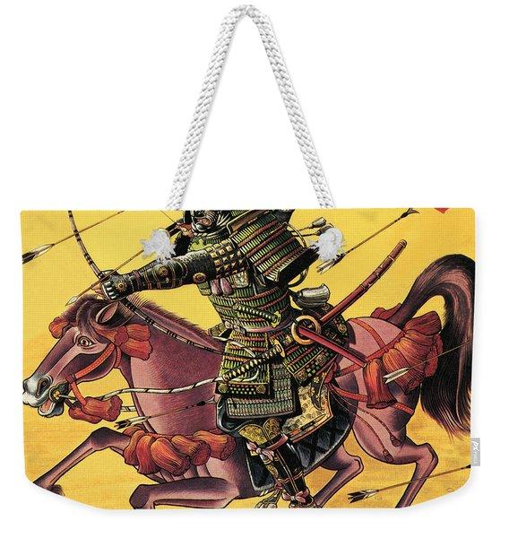The War Lords Of Japan Weekender Tote Bag