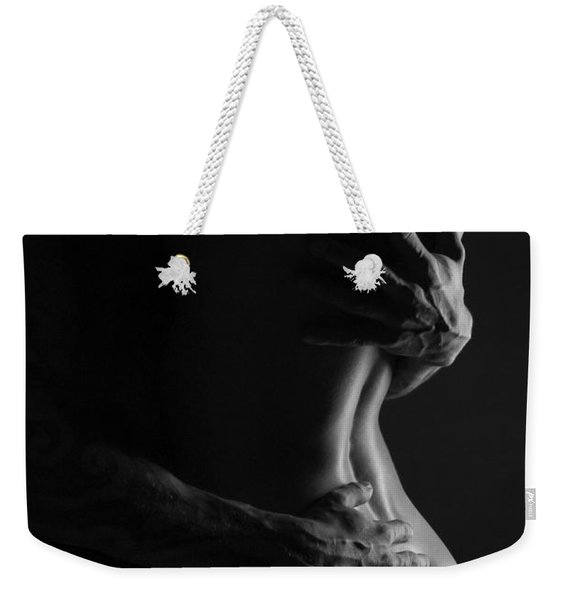 The Warm And Dark Embrace Weekender Tote Bag