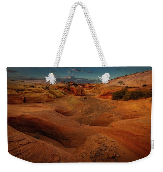 The Wash Of Subtle Shapes And Colors Weekender Tote Bag