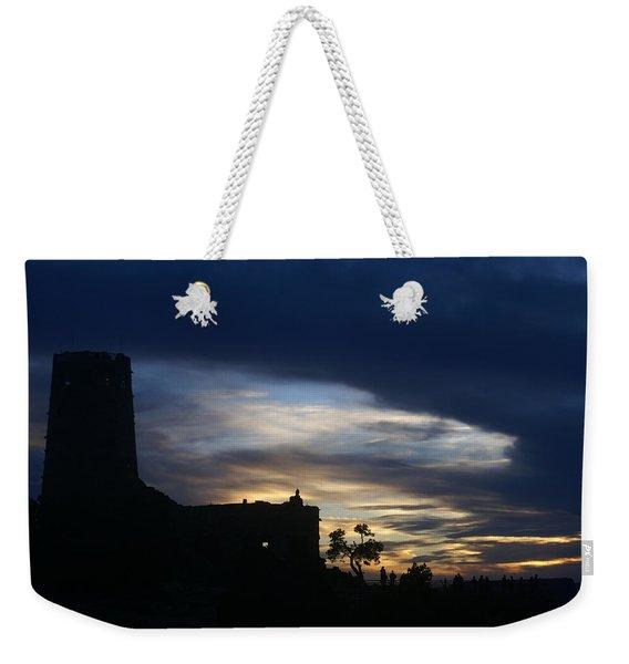 The Watch Tower Weekender Tote Bag