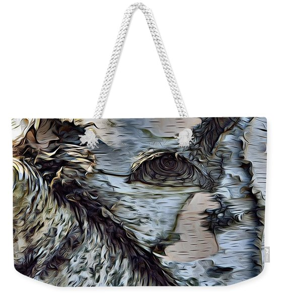 The Watcher In The Wood Weekender Tote Bag