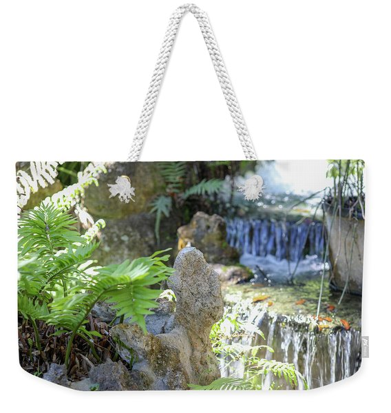 The Water And Rock Spot Weekender Tote Bag