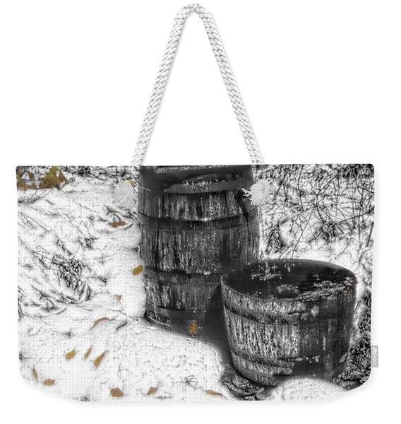 The Water Barrel Weekender Tote Bag
