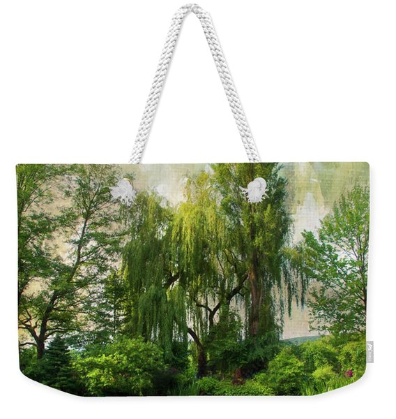 The Water Garden Weekender Tote Bag
