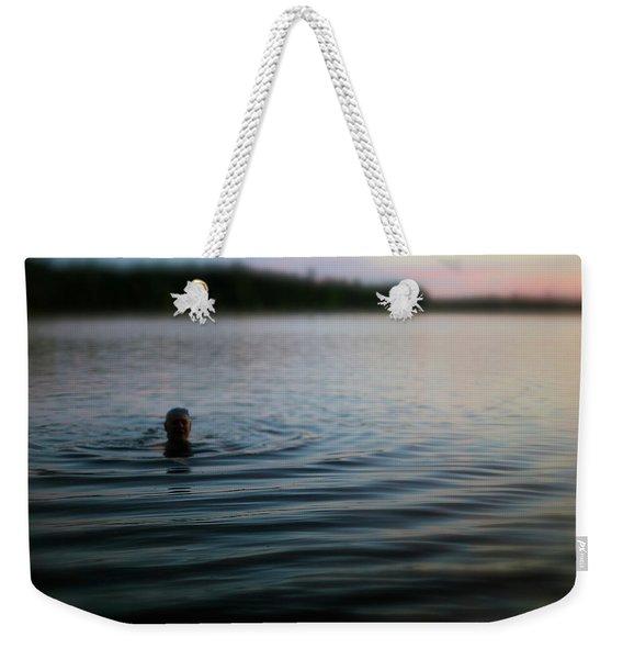 The Water Is Fine Weekender Tote Bag