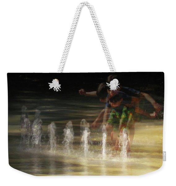 The Water Maestro  Weekender Tote Bag