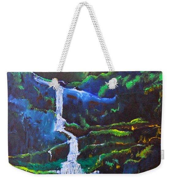 The Waterfall Weekender Tote Bag