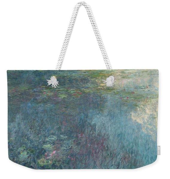 The Waterlilies  The Clouds Weekender Tote Bag