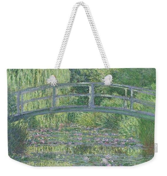 The Waterlily Pond Weekender Tote Bag