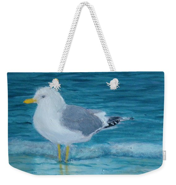 The Water's Cold Weekender Tote Bag