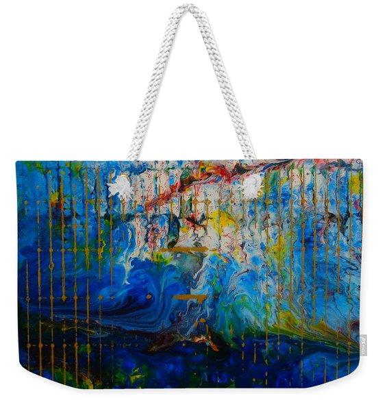 The Sound Wave Weekender Tote Bag