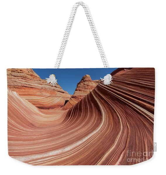 The Wave In The North Coyote Buttes, Part Of The Vermillion Clif Weekender Tote Bag
