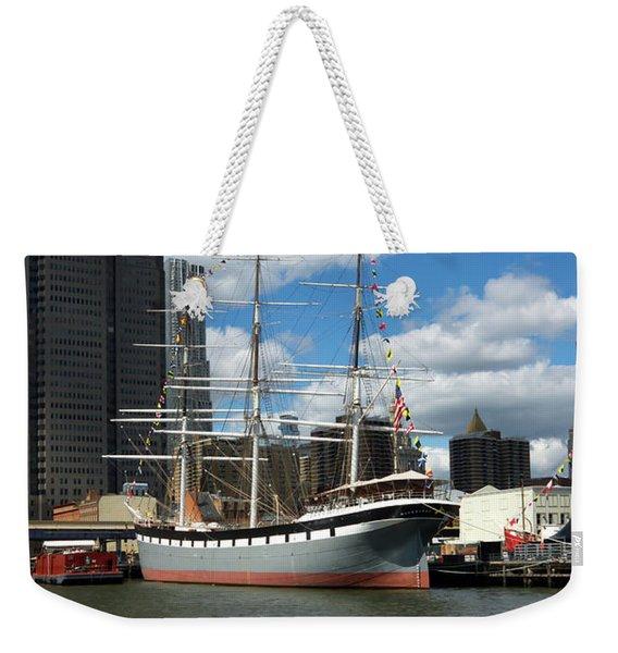 The Wavertree In Port Weekender Tote Bag